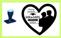 WED_012 WEDDING STAMP DESIGN
