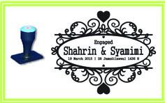 WED_013 WEDDING STAMP DESIGN