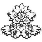 FLOWERS DESIGN ARTSTAMP