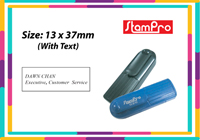 Pocket Stamp 020  Size: (13mm x 37mm)