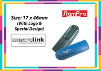 Pocket Stamp 030  Size: (17mm x 46mm)