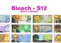 S12 100 pcs Bleach Sticker: (9mm x 22mm)