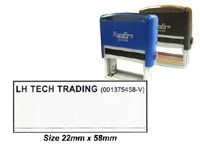 Express Self Inking Stamp (22mm x 58mm)