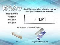 NT2575 WHITE (25mm x 75mm)